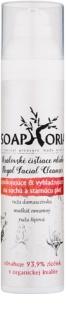 Soaphoria Royal Facial Cleanser zklidňující a vyhlazující pleťové mléko pro suchou a stárnoucí pleť