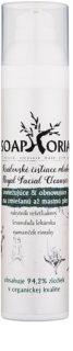 Soaphoria Royal Facial Cleanser osvěžující a obnovující čisticí mléko pro smíšenou a mastnou pleť