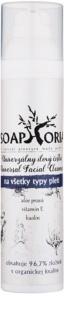 Soaphoria Royal Facial Cleanser argila de limpeza universal para todos os tipos de pele