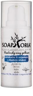 Soaphoria Royal Cream gel-crema para ojos con efecto revitalizante e iluminador con efecto frío