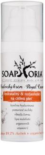 Soaphoria Royal Cream hydratační a rozjasňující krém pro normální a citlivou pleť