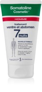 Somatoline Homme Nuit 7 Afslank Crème voor Buik en Heupen  voor Mannen