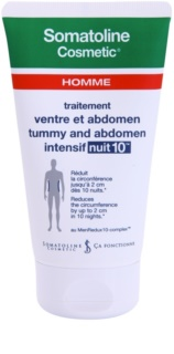 Somatoline Homme Nuit 10 Slimming Cream for Tummy and Hips For Men