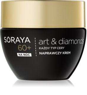 Soraya Art & Diamonds Regenerating Night Cream For Skin Cells Recovery