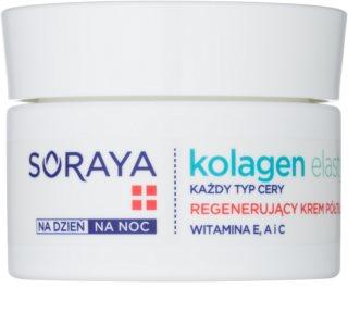 Soraya Collagen & Elastin crema facial regeneradora  con vitaminas