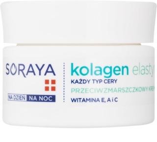Soraya Collagen & Elastin Anti-Faltencreme mit Vitaminen