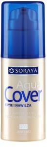 Soraya Aqua Cover podkład kryjący o dzłałaniu nawilżającym