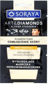 Soraya Art & Diamonds masca pentru netezire cu efect antirid