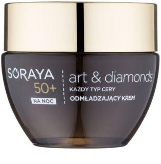 Soraya Art & Diamonds omlazující noční krém s diamantovým práškem