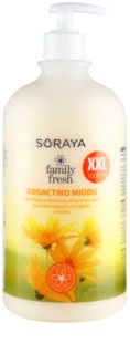 Soraya Family Fresh krémes tusoló gél mézzel