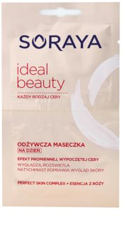 Soraya Ideal Beauty mascarilla nutritiva para lucir una piel radiante