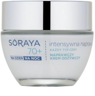 Soraya Intensive Repair възстановяващ крем за подхранване на кожата на лицето 70+