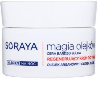 Soraya Magic Oils regeneráló krém nagyon száraz bőrre