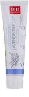 Splat Professional Lavendersept crema dental bioactiva para reducir la sensibilidad de los dientes y encías sanas