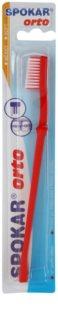 Spokar Orto Zahnbürste für die Benutzer fester Klammern weich