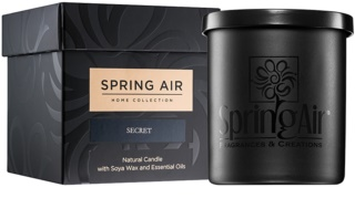 Spring Air Home Collection Secret lumânare parfumată  235 ml
