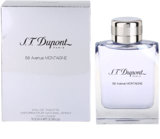 S.T. Dupont 58 Avenue Montaigne Eau de Toilette for Men 100 ml