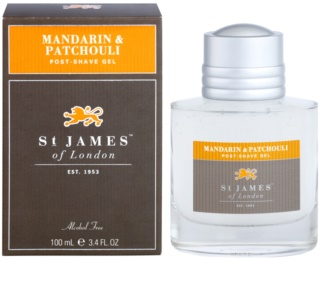 St. James Of London Mandarin & Patchouli gel de barbear para homens 100 ml
