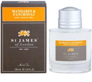 St. James Of London Mandarin & Patchouli гель після гоління для чоловіків 100 мл