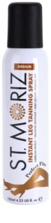St. Moriz Instant Spray pentru picioare perfect bronzate