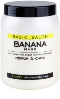 Stapiz Basic Salon Banana obnovující maska pro poškozené vlasy