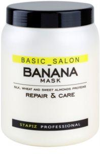 Stapiz Basic Salon Banana masque rénovateur pour cheveux abîmés