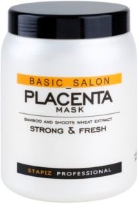 Stapiz Basic Salon Placenta Hydrating Mask For Brittle And Stressed Hair