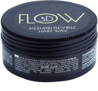 Stapiz Flow 3D Hair Styling Wax With Keratin