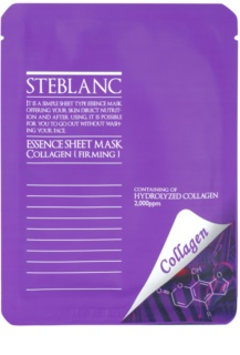 Steblanc Essence Sheet Mask Collagen maska za učvrstitev kože