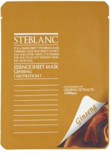 Steblanc Essence Sheet Mask Ginseng vyživujúca a obnovujúca pleťová maska