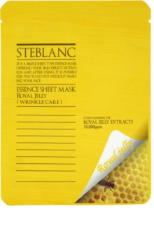 Steblanc Essence Sheet Mask Royal Jelly maska za obraz proti gubam