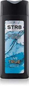 STR8 Live True τζελ για ντους για άντρες 400 μλ