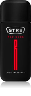 STR8 Red Code spray corpo per uomo 75 ml