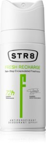 STR8 Fresh Recharge αποσμητικό σε σπρέι για άντρες