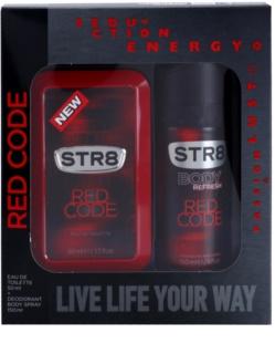 STR8 Red Code подаръчен комплект II.