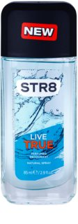 STR8 Live True deodorant s rozprašovačem pro muže 85 ml