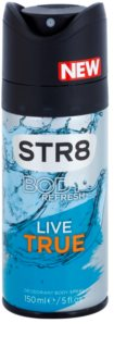 STR8 Live True deodorant spray para homens 150 ml