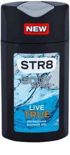 STR8 Live True gel za prhanje za moške 250 ml