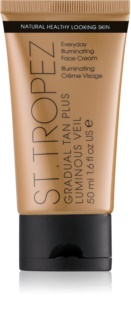 St.Tropez Gradual Tan Plus Luminous Veil Everyday Illuminating Face Cream
