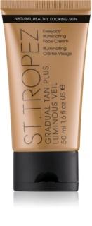 St.Tropez Gradual Tan Plus Luminous Veil крем для обличчя для поступової засмаги