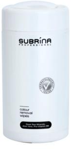 Subrina Professional Colour ściereczki do usuwania farby ze skóry