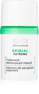 SVR Spirial Extreme Antitranspirant Roll-on gegen übermäßiges Schwitzen