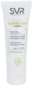SVR Sebiaclear BB Cream pentru imperfectiunile pielii SPF 20