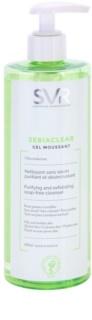 SVR Sebiaclear Gel Moussant очищуючий пінистий гель для жирної та проблемної шкіри