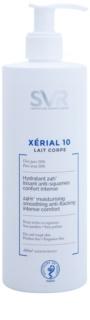 SVR Xérial 10 leite corporal hidratante para pele seca