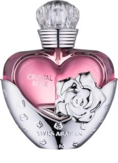 Swiss Arabian Crystal Rose Eau de Parfum para mulheres 50 ml