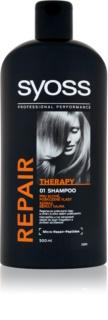 Syoss Repair Therapy champú regenerador intenso para cabello maltratado o dañado