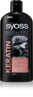 Syoss Keratin champô de restauração profunda antiquebra de cabelo