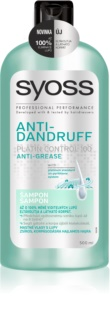 Syoss Anti-Dandruff Platin Control 100 Anti-Ross Shampoo
