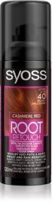 Syoss Root Retoucher tonizáló festék a lenőtt hajra spray -ben